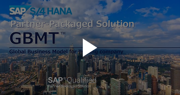 GBMT for use with SAP S/4HANA: SAP Qualified Partner-Packaged Solution 動画