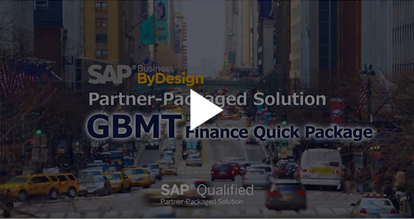 GBMT Finance Quick Package:SAP Business ByDesign Partner-Packaged Solution 動画
